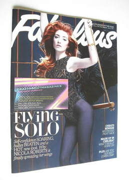 <!--2011-06-12-->Fabulous magazine - Nicola Roberts cover (12 June 2011)