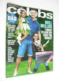Celebs magazine - Will Mellor cover (19 June 2011)