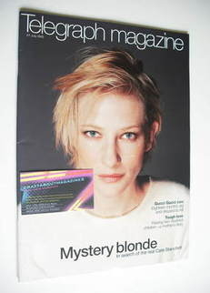 <!--2002-07-27-->Telegraph magazine - Cate Blanchett cover (27 July 2002)