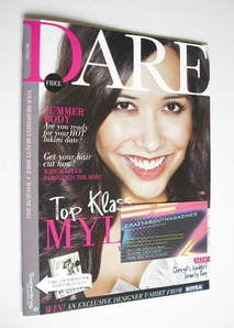 <!--2011-05-->Dare magazine - Myleene Klass cover (May/June 2011)