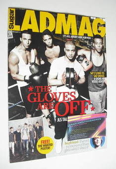 Lad magazine - JLS cover (February 2011)