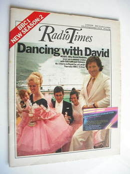<!--1973-09-15-->Radio Times magazine - David Dimbleby cover (15-21 Septemb