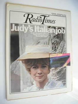 <!--1973-04-14-->Radio Times magazine - Judy Geeson cover (14-20 April 1973