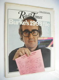<!--1973-03-03-->Radio Times magazine - James Burke cover (3-9 March 1973)