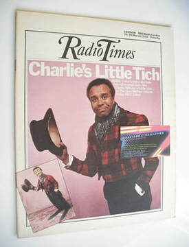 <!--1973-03-24-->Radio Times magazine - Charlie Williams cover (24-30 March