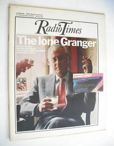 <!--1972-10-07-->Radio Times magazine - Stewart Granger cover (7-13 October