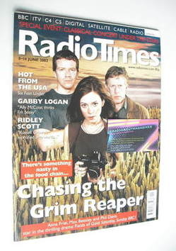 <!--2002-06-08-->Radio Times magazine - Anna Friel, Max Beesley and Phil Da