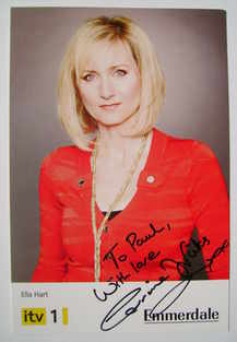 Corrinne Wicks autograph (Emmerdale actor)