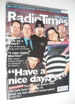 <!--2002-04-27-->Radio Times magazine - Auf Wiedersehen Pet cover (27 April