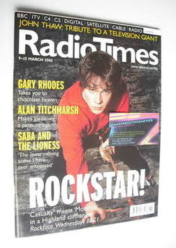 <!--2002-03-09-->Radio Times magazine - Jamie Doughan cover (9-15 March 200