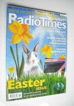 <!--2002-03-30-->Radio Times magazine - Easter Issue cover (30 March - 5 Ap