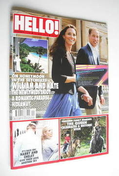 <!--2011-05-23-->Hello! magazine - Prince William and Kate Middleton cover