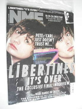 <!--2011-05-14-->NME magazine - The Libertines cover (14 May 2011)
