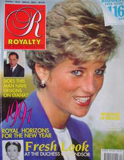 <!--1991-01-->Royalty Monthly magazine - Princess Diana (January 1991, Vol.
