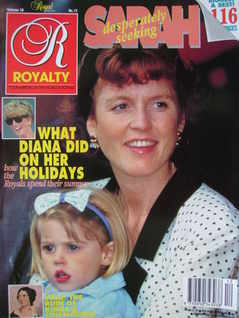 <!--1991-09-->Royalty Monthly magazine - The Duchess of York and Princess B