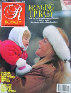 <!--1990-04-->Royalty Monthly magazine - The Duchess of York and Princess B
