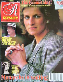 <!--1991-07-->Royalty Monthly magazine - Princess Diana cover (July 1991, V