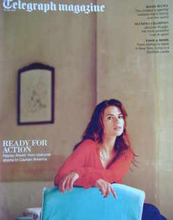 <!--2011-07-16-->Telegraph magazine - Hayley Atwell cover (16 July 2011)
