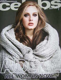 <!--2011-01-30-->Celebs magazine - Adele cover (30 January 2011)