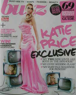 <!--2011-03-19-->Buzz magazine - Katie Price cover (19 March 2011)