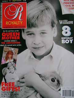 <!--1990-07-->Royalty Monthly magazine - Prince William cover (July 1990, V