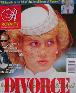 <!--1994-12-->Royalty Monthly magazine - Princess Diana cover (December 199