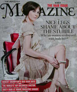 <!--2011-04-30-->The Times magazine - Polly Vernon cover (30 April 2011)