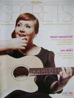 The Daily Telegraph Trading Secrets magazine supplement - Adele cover