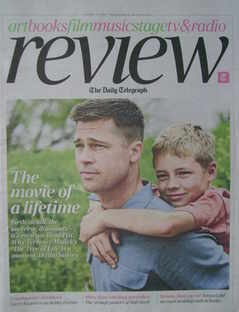 The Daily Telegraph Review newspaper supplement - 9 April 2011 - Brad Pitt