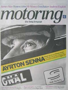 The Daily Telegraph Motoring newspaper supplement - 4 June 2011 - Ayrton Se