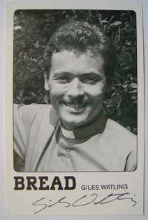 Giles Watling autograph (hand-signed Bread cast card)