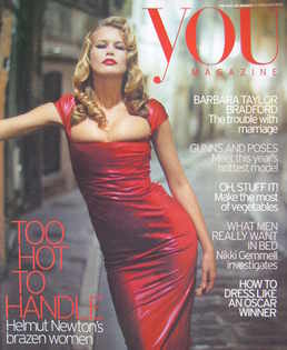 <!--2004-02-22-->You magazine - Claudia Schiffer cover (22 February 2004)