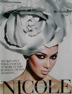 <!--2011-03-20-->Celebs magazine - Nicole Scherzinger cover (20 March 2011)