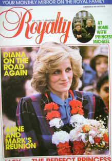 <!--1985-01-->Royalty Monthly magazine - Princess Diana cover (January 1985