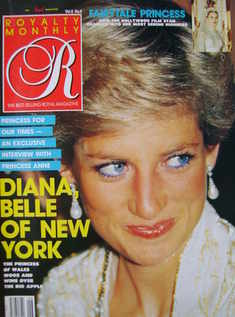 Royalty Monthly magazine - Princess Diana cover (March 1989, Vol.8 No.6)
