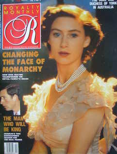 <!--1988-11-->Royalty Monthly magazine - Princess Margaret cover (November