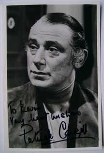 Patrick Cargill autograph