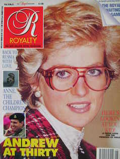 <!--1990-03-->Royalty Monthly magazine - Princess Diana cover (March 1990,
