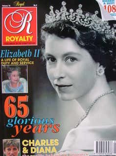 <!--1991-05-->Royalty Monthly magazine - Princess Elizabeth cover (May 1991