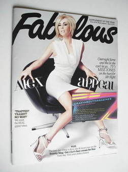 <!--2011-05-29-->Fabulous magazine - Alex Jones cover (29 May 2011)