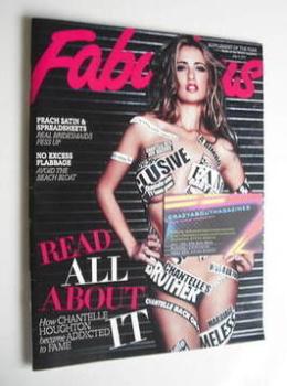 Fabulous magazine - Chantelle Houghton cover (3 July 2011)
