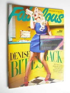 <!--2011-07-16-->Fabulous magazine - Denise Van Outen cover (16-17 July 201