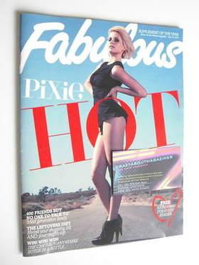 <!--2011-07-10-->Fabulous magazine - Pixie Lott cover (10 July 2011)