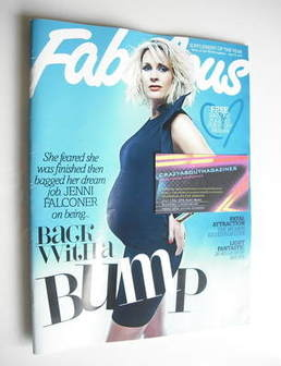 <!--2011-06-19-->Fabulous magazine - Jenni Falconer cover (19 June 2011)