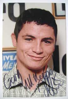 Jody Latham autograph
