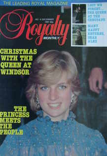 Royalty Monthly magazine - Princess Diana cover (December 1981, Vol.1 No.6)