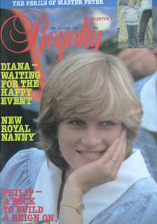 Royalty Monthly magazine - Princess Diana cover (June 1982, Vol.1 No.12)