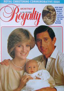 Royalty Monthly magazine - Prince Charles, Princess Diana and Prince William cover (September 1982, Vol.2 No.3)