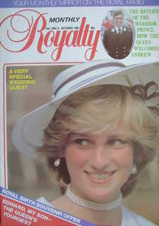 Royalty Monthly magazine - Princess Diana cover (October 1982, Vol.2 No.4)