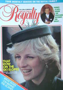 Royalty Monthly magazine - Princess Diana cover (March 1983, Vol.2 No.9)
